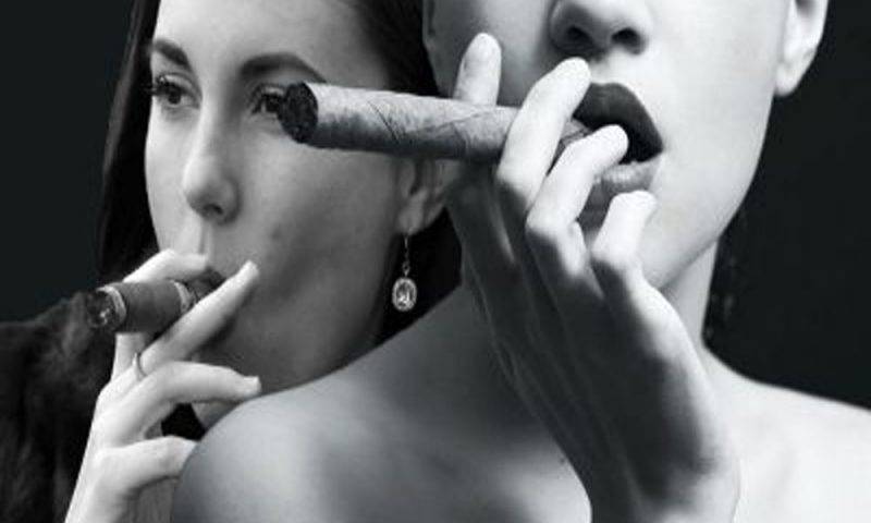 Women Smoking Cigars