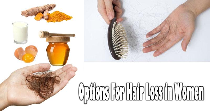 Options For Hair Loss in Women – The Major Secret Finally Revealed!
